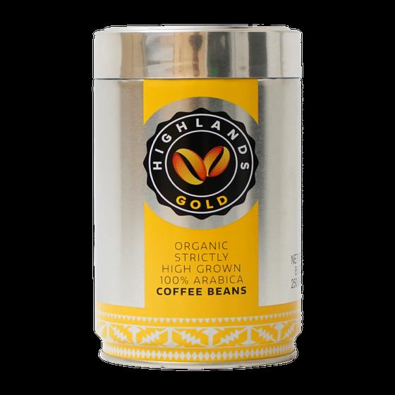 Highlands Gold - koffiebonen - Strictly High Grown (Organic)