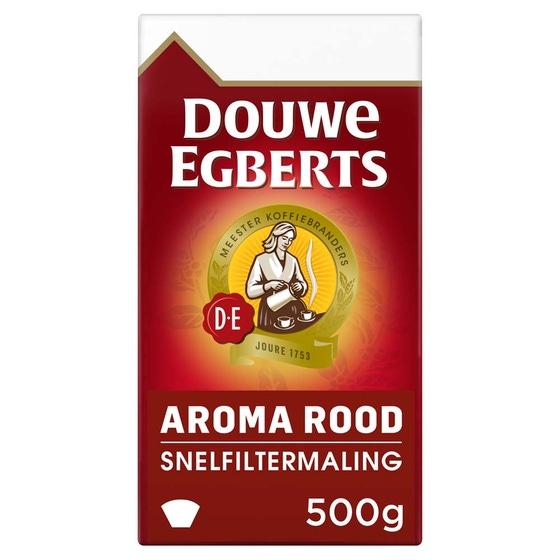 Douwe Egberts - gemalen koffie - Aroma Rood