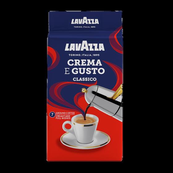 Lavazza - gemalen koffie - Crema e Gusto