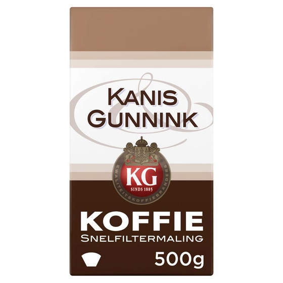 Kanis & Gunnink - gemalen koffie - Regular