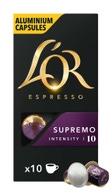 CW213103M - l or espresso supremo capsules 10stuks