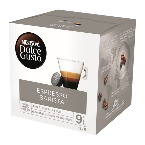 Dolce Gusto - Barista