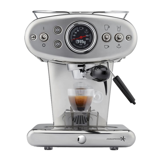 illy X1 Anniversary chroom Espresso & Coffee machine
