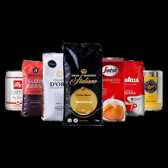 Koffiebonen proefpakket - Verjaardagspakket Qualità Classica - 5.5kg