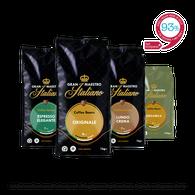 Koffiebonen proefpakket  - Gran Maestro Italiano - Noord Italië Mild & Verfijnd - 4kg