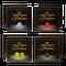 Proefpakket Grand Maestro Italiano - Dolce Gusto (128 cups) en 2 luxe dubbelwandige glazen