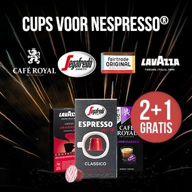 2+1 GRATIS nespresso