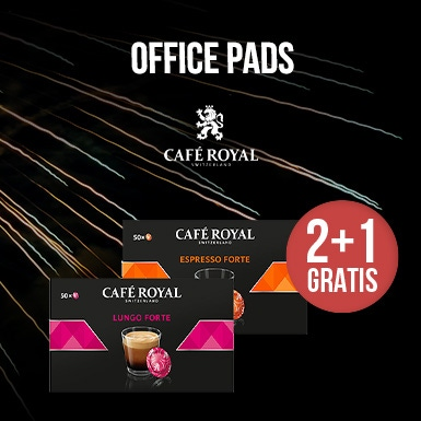 2+1 GRATIS nespresso office pads