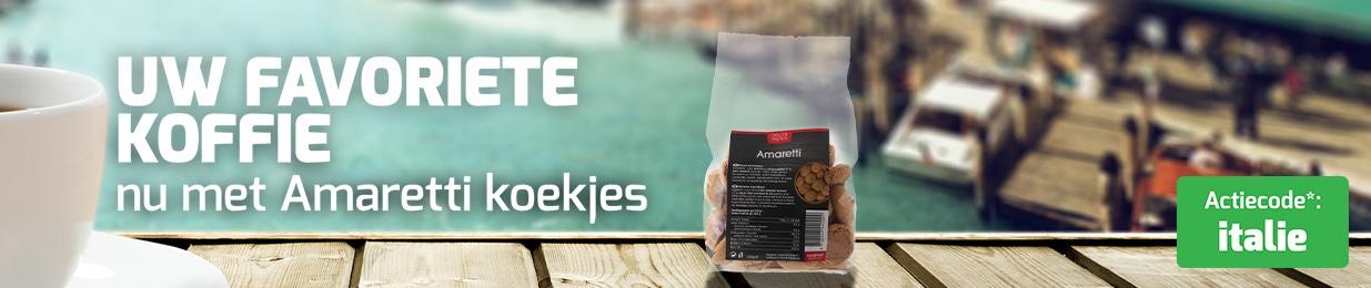 Italiaanse week - Ontvang gratis Amaretti Koekjes!