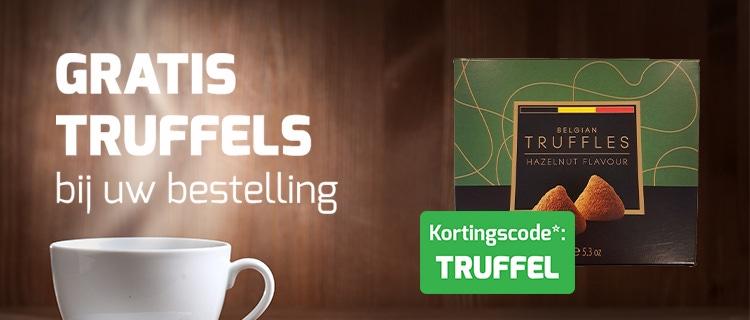 Gratis truffels bij uw bestelling!