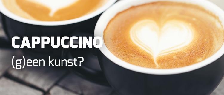 Cappuccino (g)een kunst