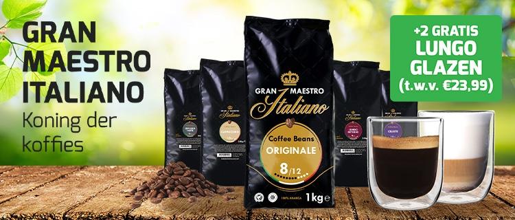 Gran Maestro Italiano + glazen